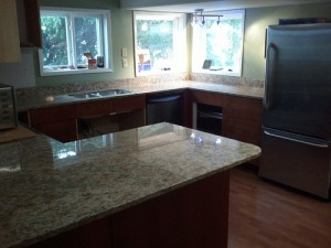 types of kitchen countertop